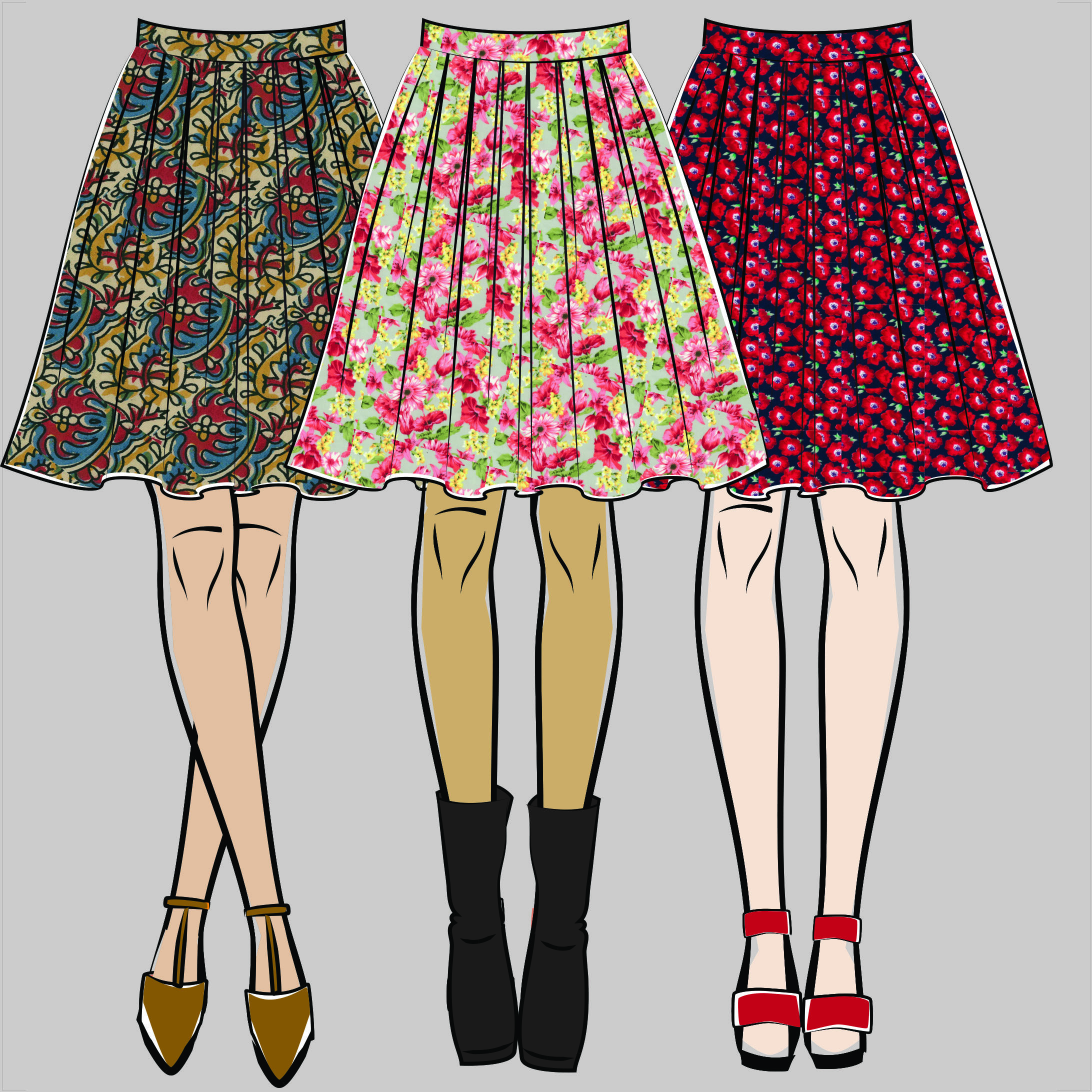 Katie Skirt Pattern — Vintage Made London
