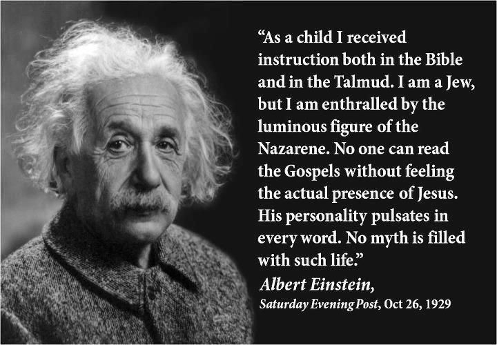 quote of the day einstein on god and jesus einstein quotes