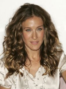 Sarah Jessica Parker Natural Curly Hairstyle Curly Hair Styles Naturally Curly Hair Styles Hair