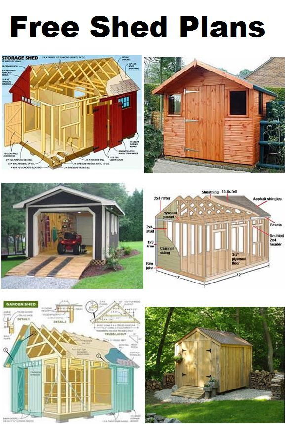 How To Build A Storage Shed From Scratch Outdoor Building Plans