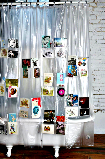 SO CUTE Picture Collage Shower Curtain