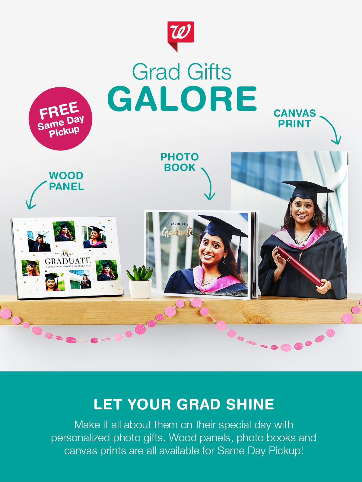 Make your grads big day extraordinary when you create
