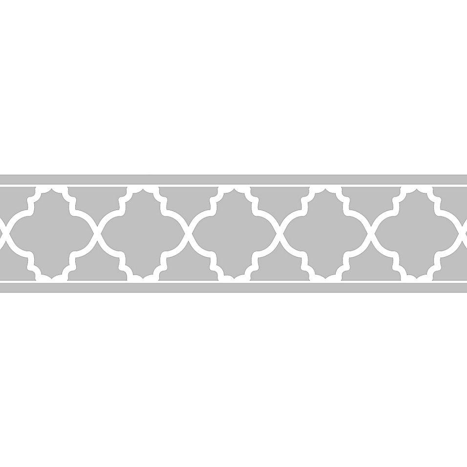 Sweet Jojo Designs Trellis Wallpaper Border In Grey White Bed Bath Beyond In 2021 Trellis Wallpaper Wallpaper Border Sweet Jojo Designs