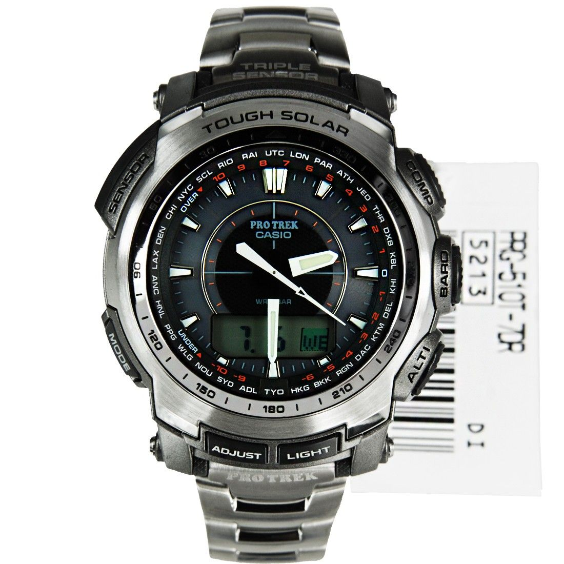 Compre Casio Protrek Titanium Men Watch PRG510T7 PRG510T