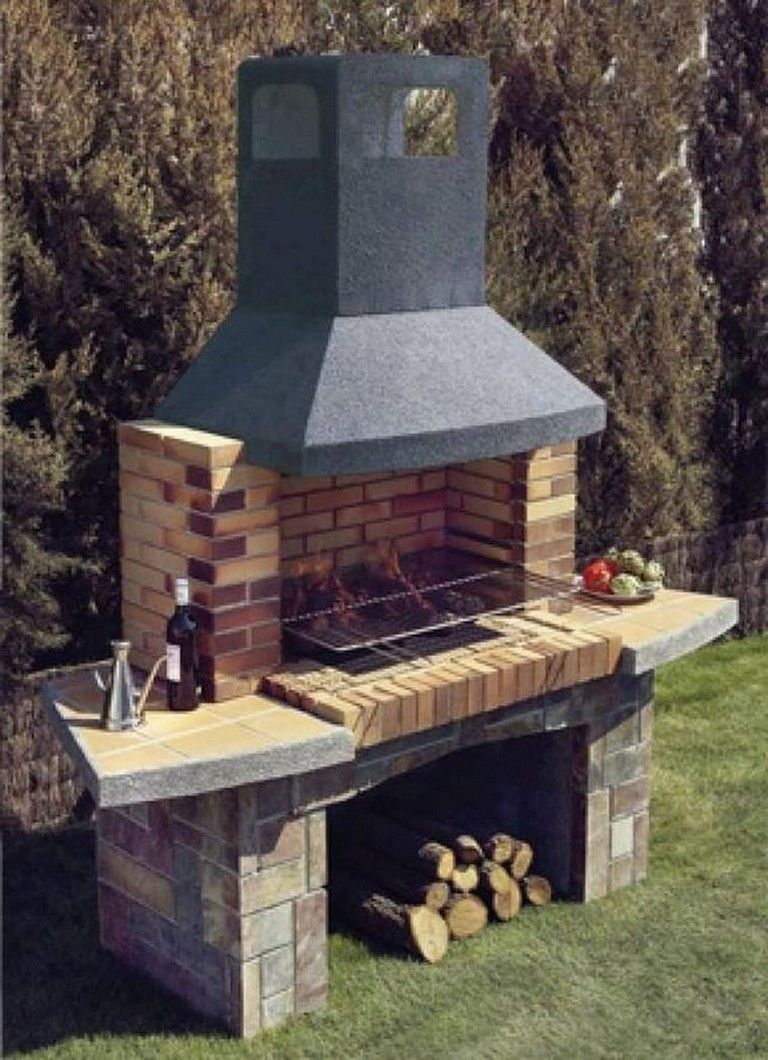 60 Awesome BBQ Grill Design Ideas for Your Patio #outdoor ...