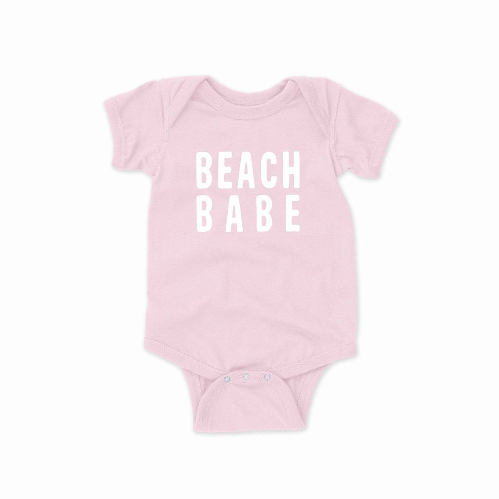 Baby Shower Gift Cute Baby Bodysuit Beach Babe Baby Bodysuit