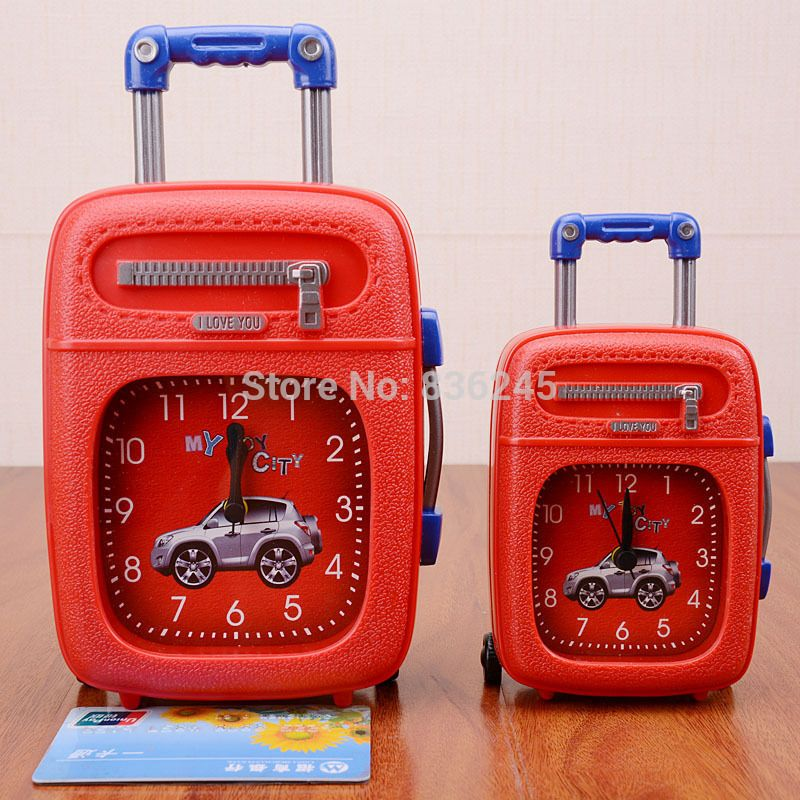 Find More Alarm Clocks Information about Free Shipping despertador Creative Alarm clock, Trolley form  Alarm Clock,Creative Alarm table clock Crafts, Antique classic,High Quality Alarm Clocks from YongDa Trading Co.,LTD on Aliexpress.com