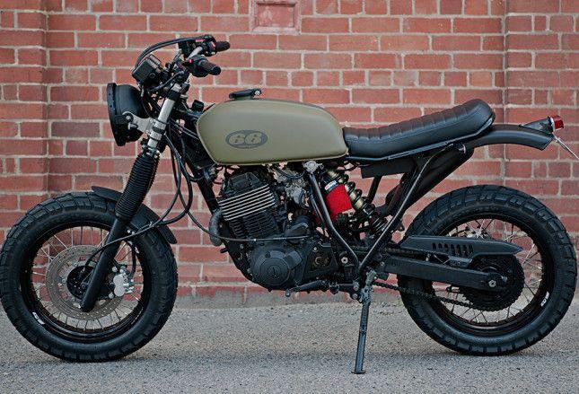 pin von flo zac auf moped scrambler motorcycle. Black Bedroom Furniture Sets. Home Design Ideas
