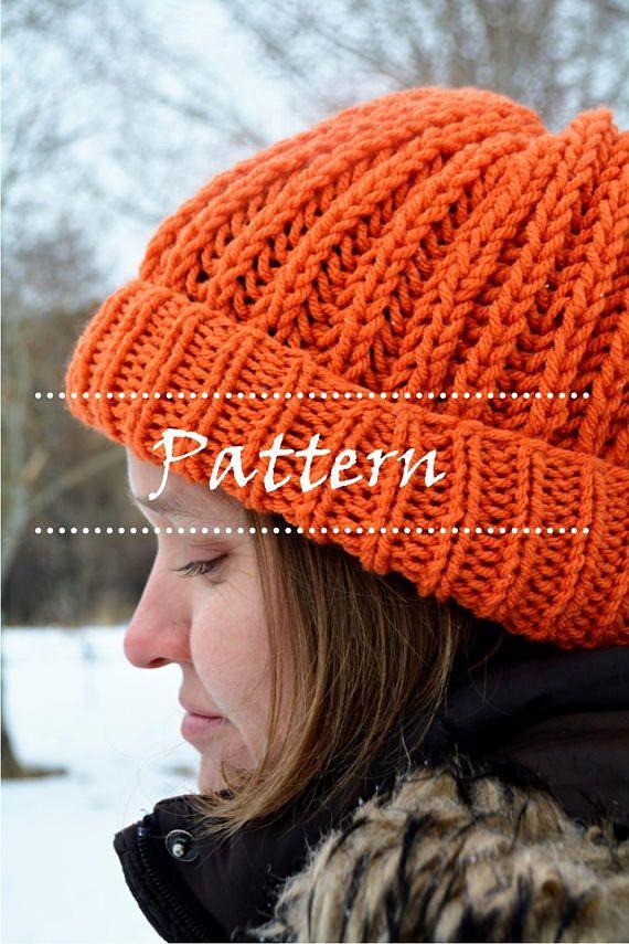 Maple Hat Pattern, knit hat pattern, knitted hats ...
