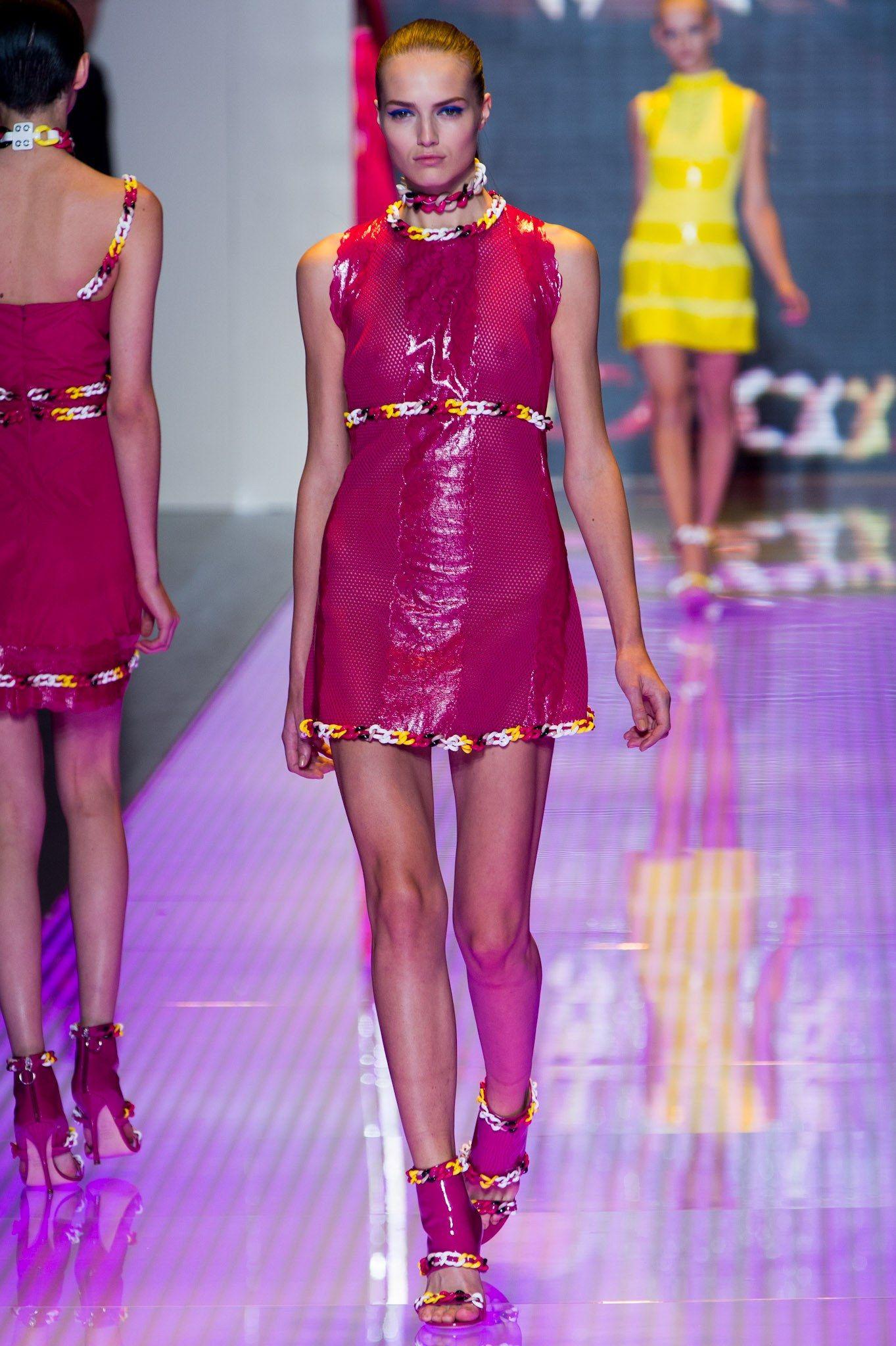 Lujo Lindsey Wixson Vestido De Fiesta Friso - Colección del Vestido ...