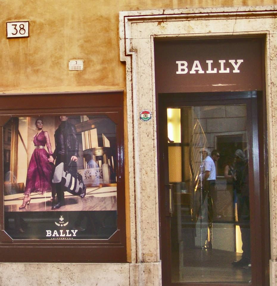 bally via dei condotti rome when in rome pinterest rome