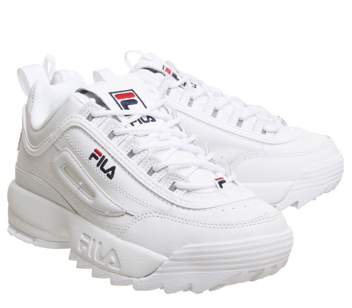 fila disruptor 2 white | fila shoes