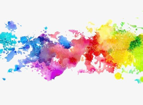 Water Color Ink Color Ink Decoration Color Png Transparent Clipart Image And Psd File For Free Download Watercolor Splatter Watercolor Splash Rainbow Painting