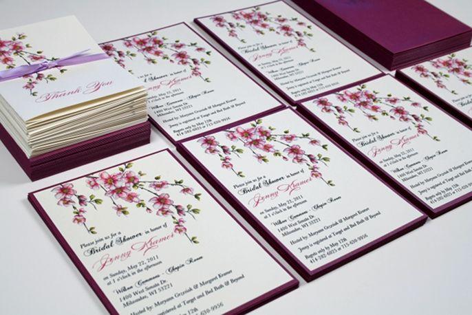 Cherryblossom Weddinginvitations My Style Pinterest Weddings
