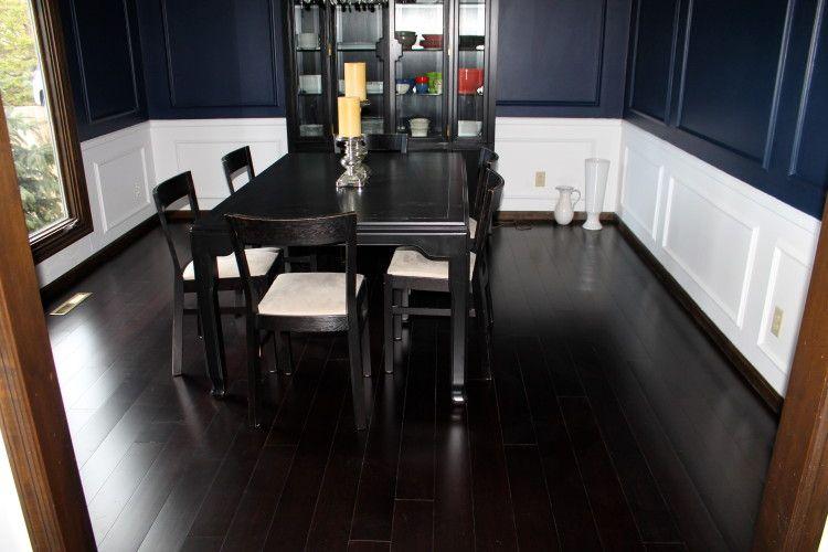 Our Dining Room Hardwood Floor Installation | Bamboo Wood Flooring