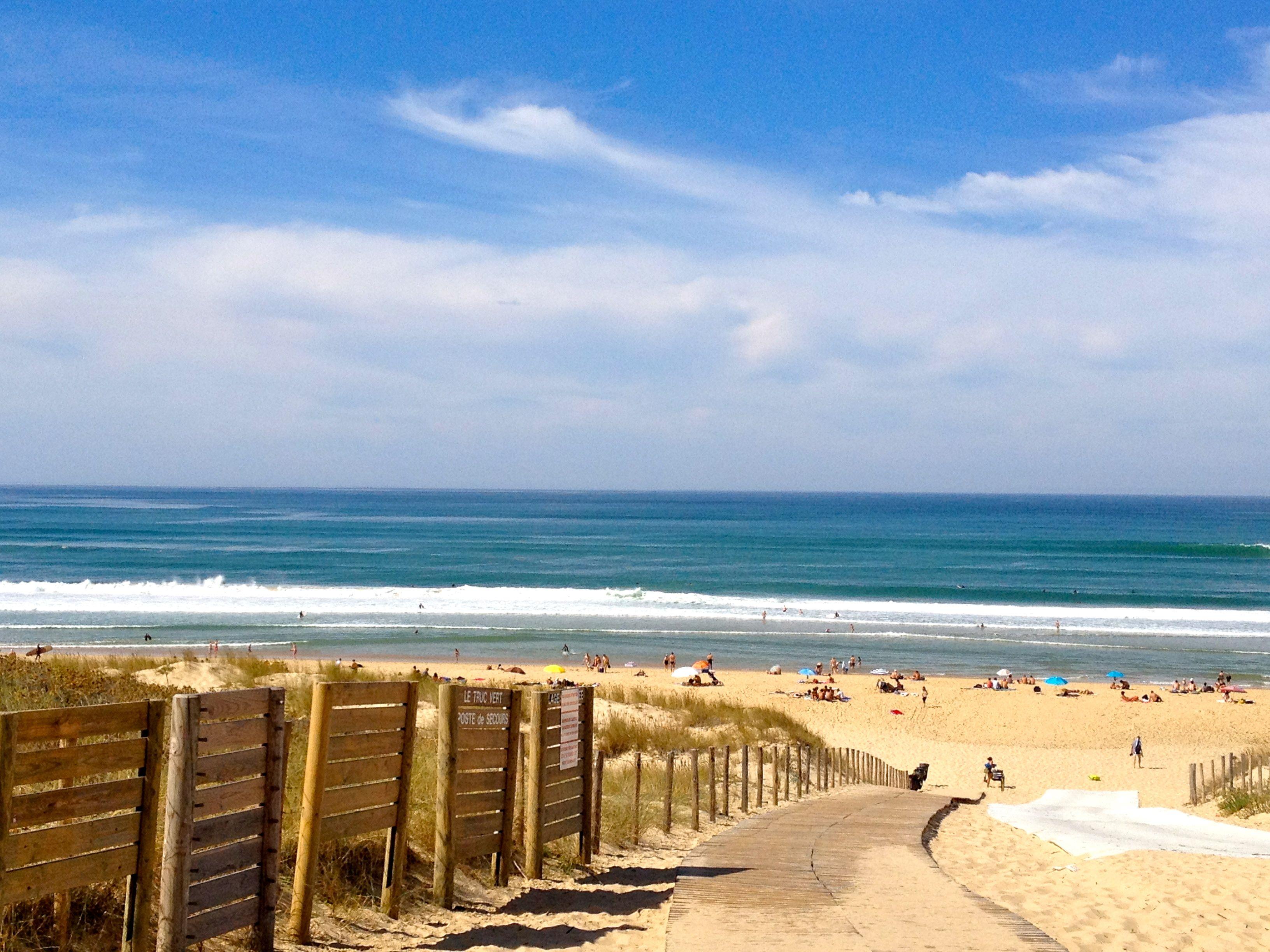 Truc vert #CapFerret #beach #sunshine