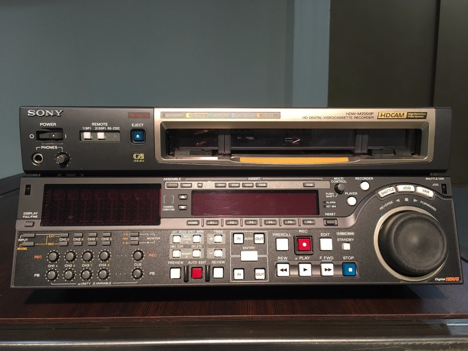 Sony HD Digital Videocassette Recorder HDW M2000P