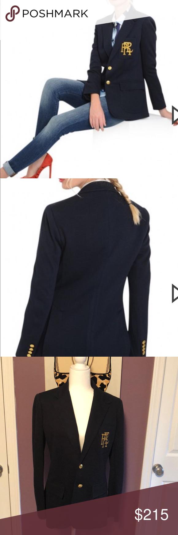 Polo Ralph Lauren Women S Prl Blazer Jacket 10 Fashion Clothes Design Polo Ralph Lauren Women
