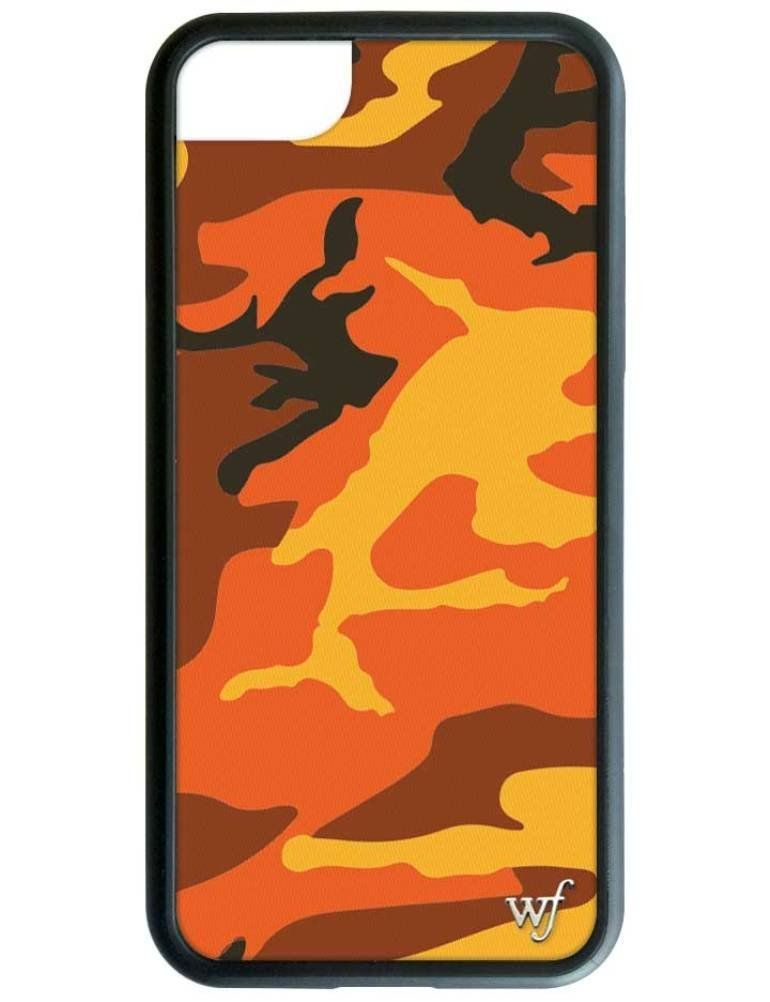 orange rubber case iphone 8