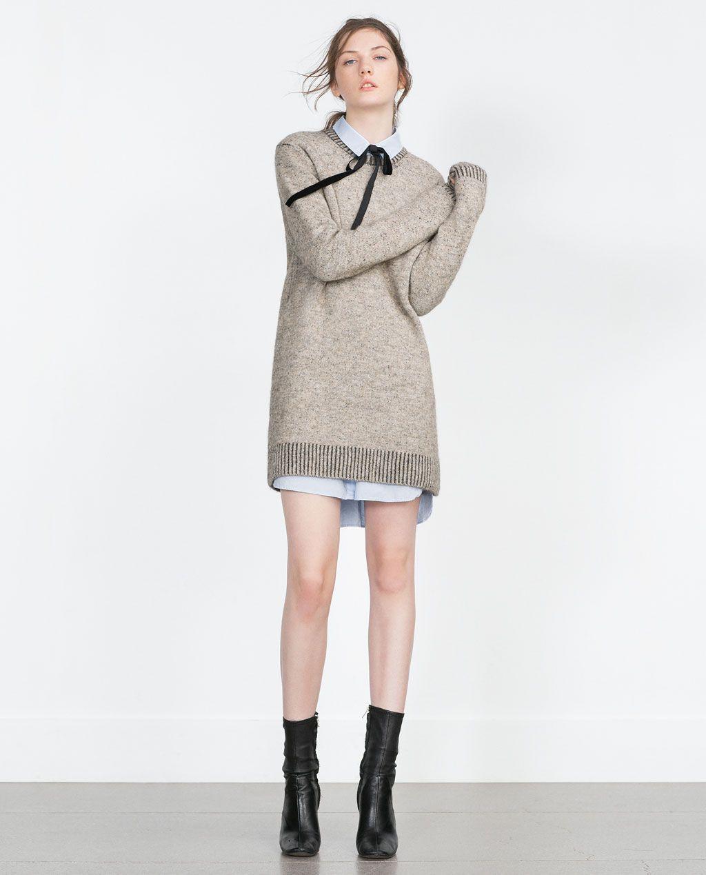 f9e005b2c MAXI SWEATER DRESS-View all-Dresses-WOMAN
