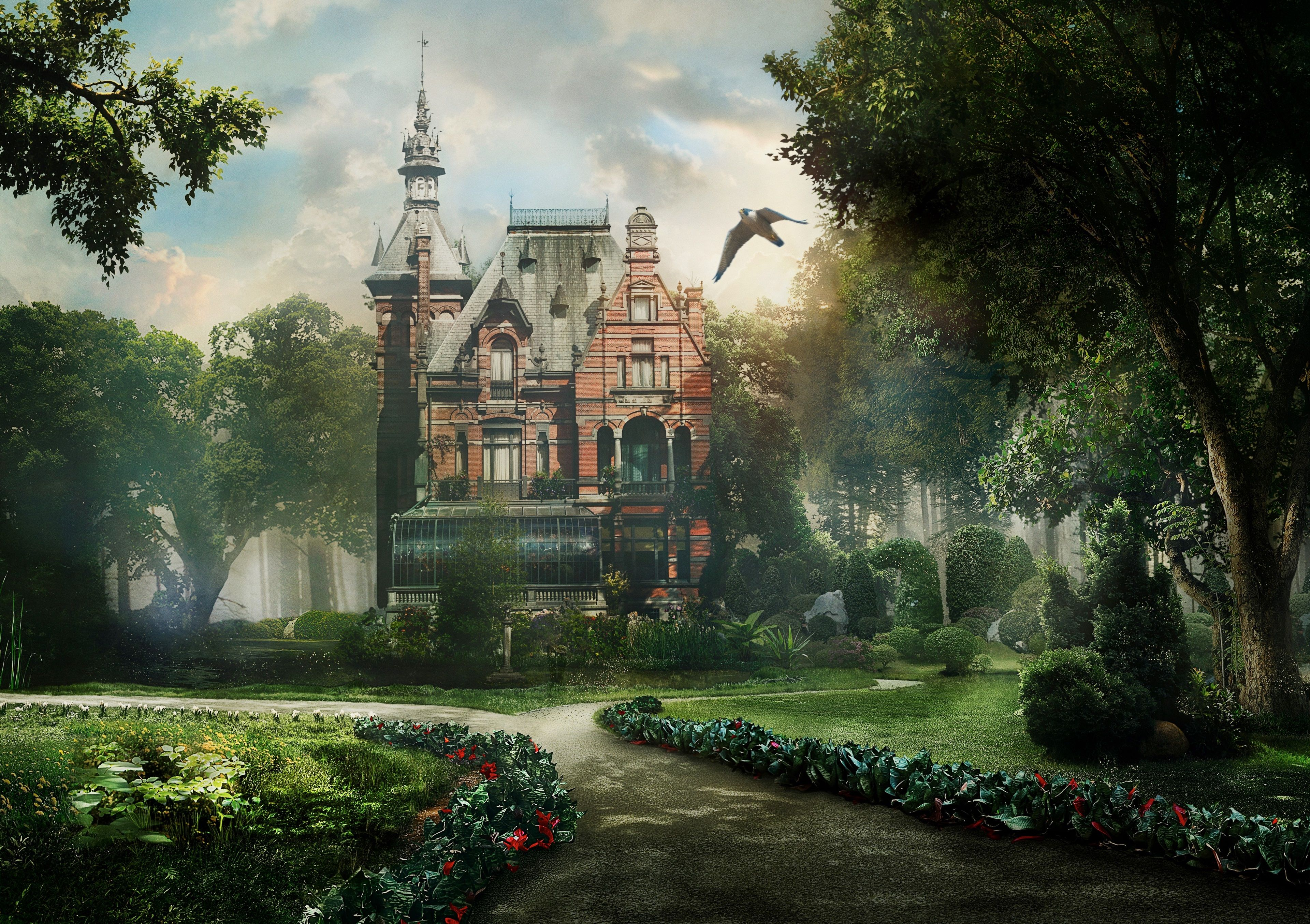3840x2710 Miss Peregrines Home For Peculiar Children 4k Wallpaper