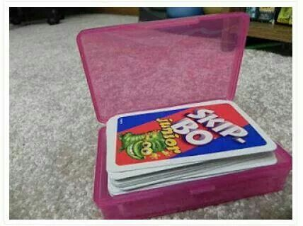 Travel Soap Box to store Playing cards