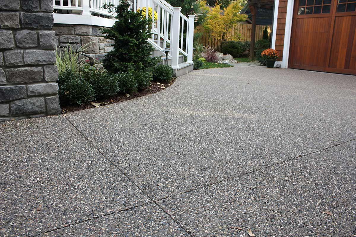 Home Concrete Patio Driveway Installation Concrete