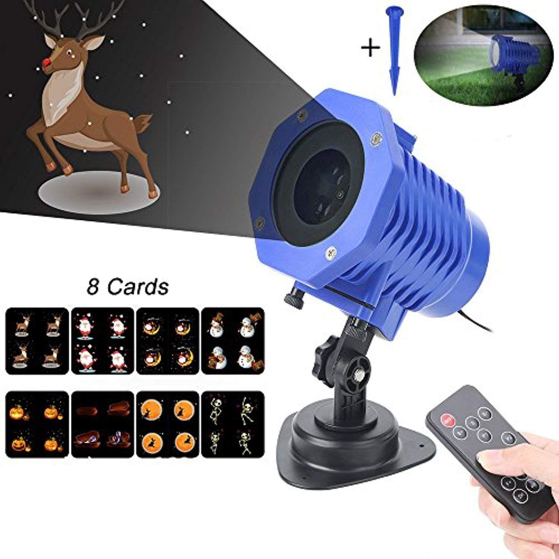 Leegoal Outdoor Projector Lights, Waterproof LED Projector