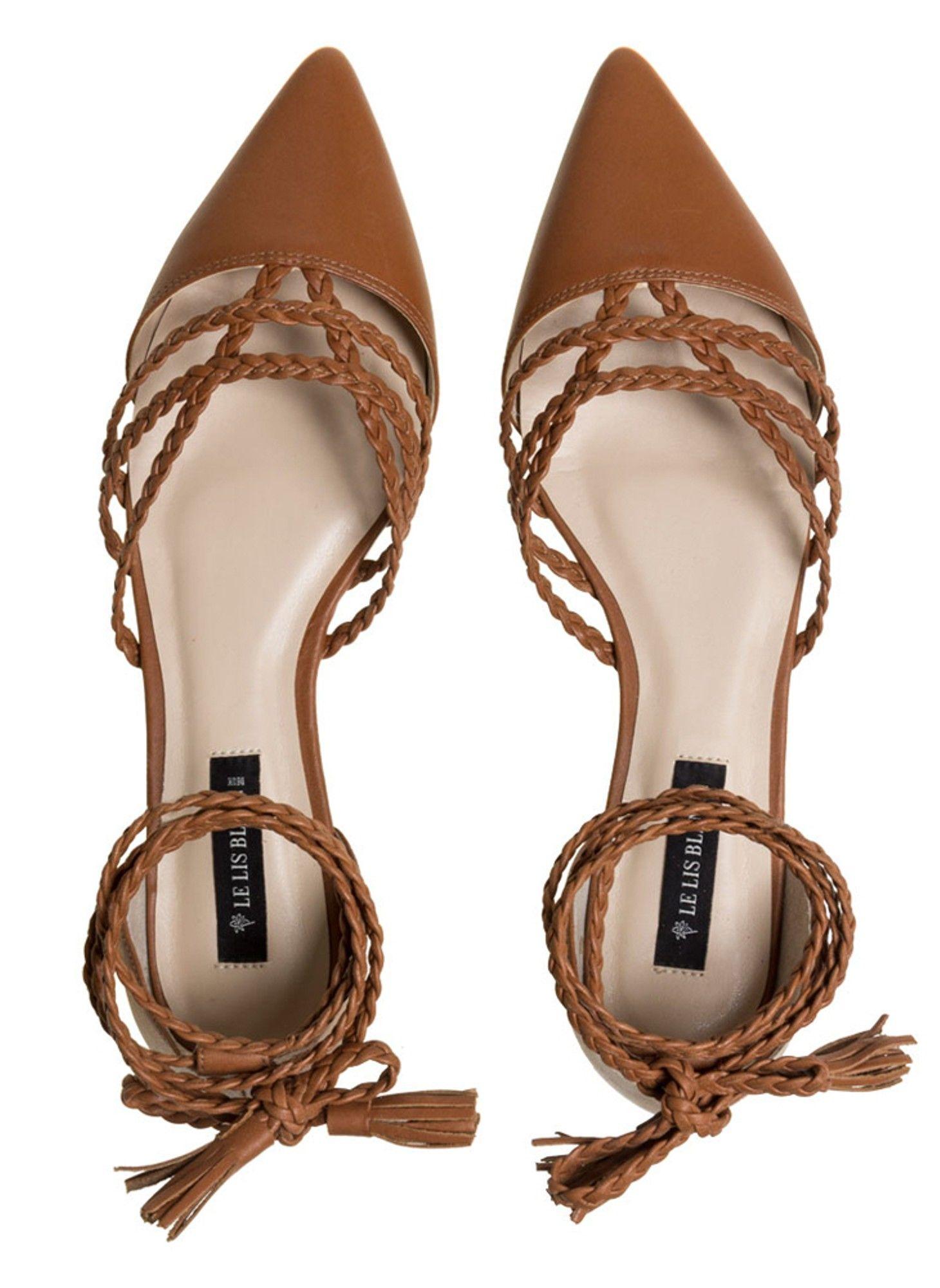 Sapatilha Anne Couro - lelis Sapatos De Couro Feminino, Sapatilha De Couro,  Sapatos Confortáveis adef415601