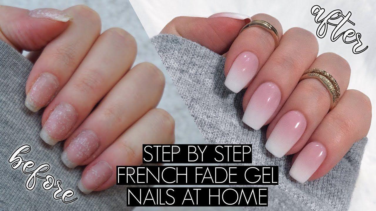 Diy Gel Manicure At Home The Beauty Vault Youtube Gel Manicure At Home Diy Gel Manicure Gel Nails Diy