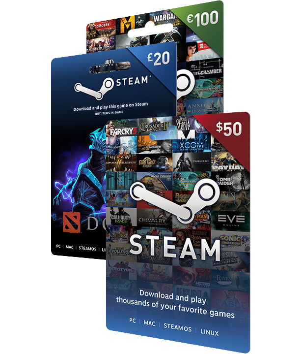 Steam Gift Cards On Steam Wallet Gift Card Digital Gift Card Free Gift Card Generator
