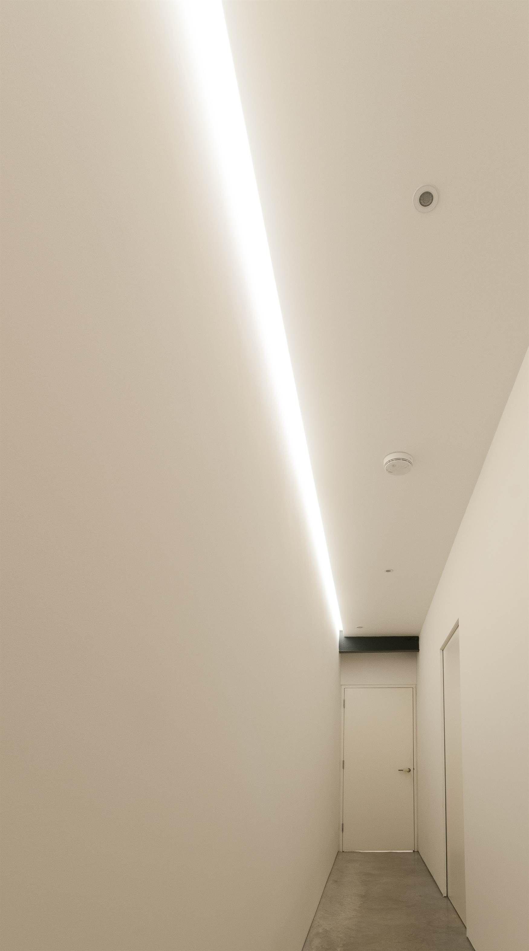lighting for hallways. lighting design by mr resistor shadow gap led strip in hallway for hallways