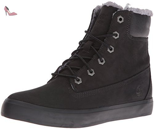 Timberland Flannery with Crainy, Bottes Chukka Femme, (Rainy Day Escape Full Grain), 39 EU