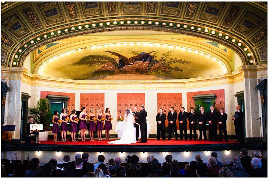 Possible Venue For The WeddingCincinnatis Memorial Hall