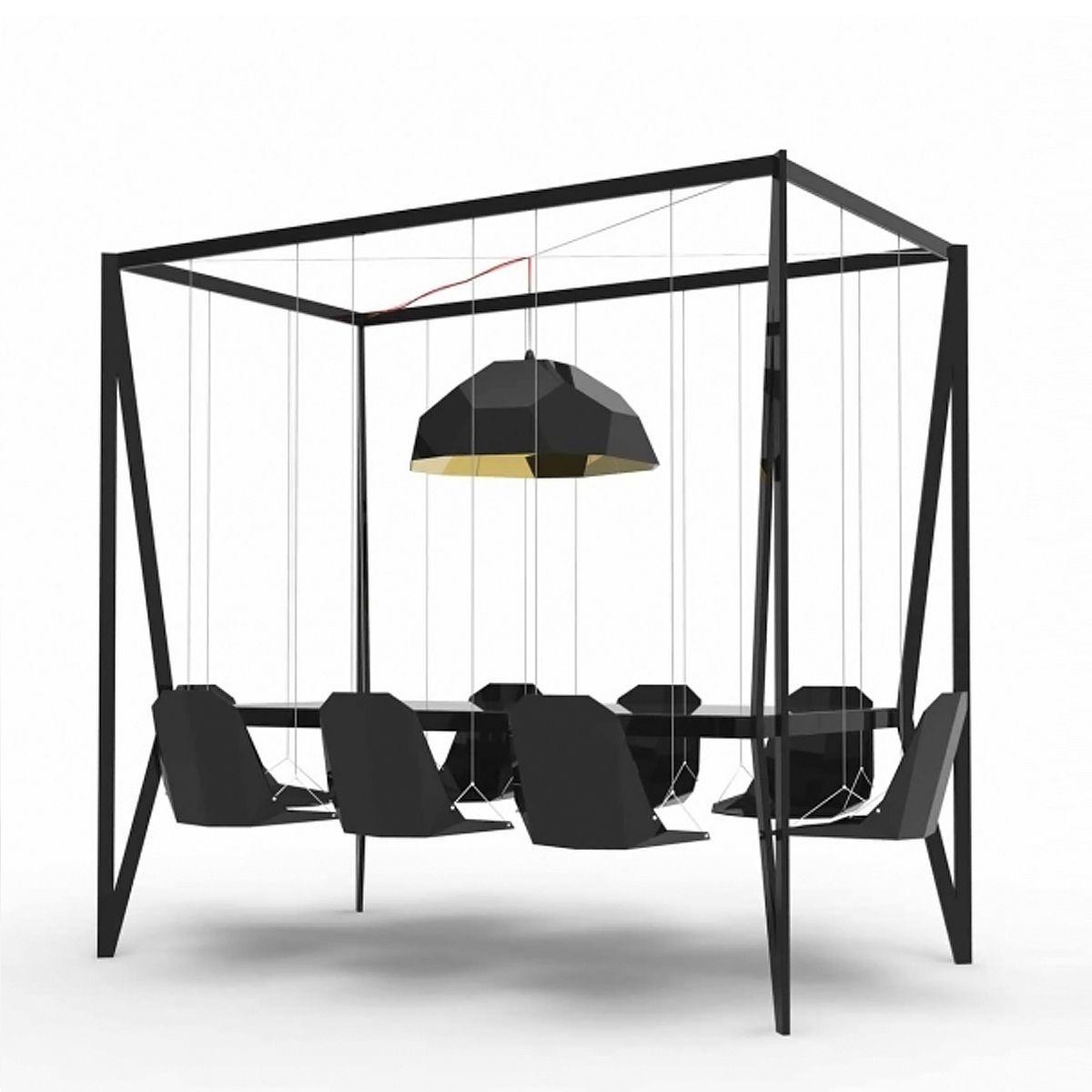 Monoco swing table dream home pinterest swings industrial