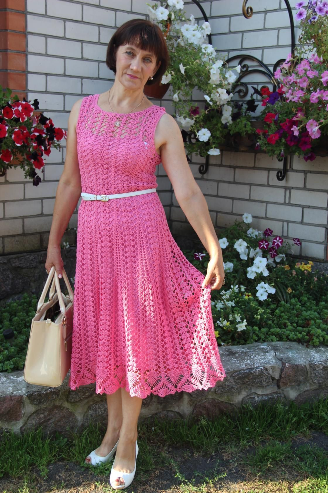 16) Одноклассники | Crochet dresses | Pinterest | Vestiditos ...