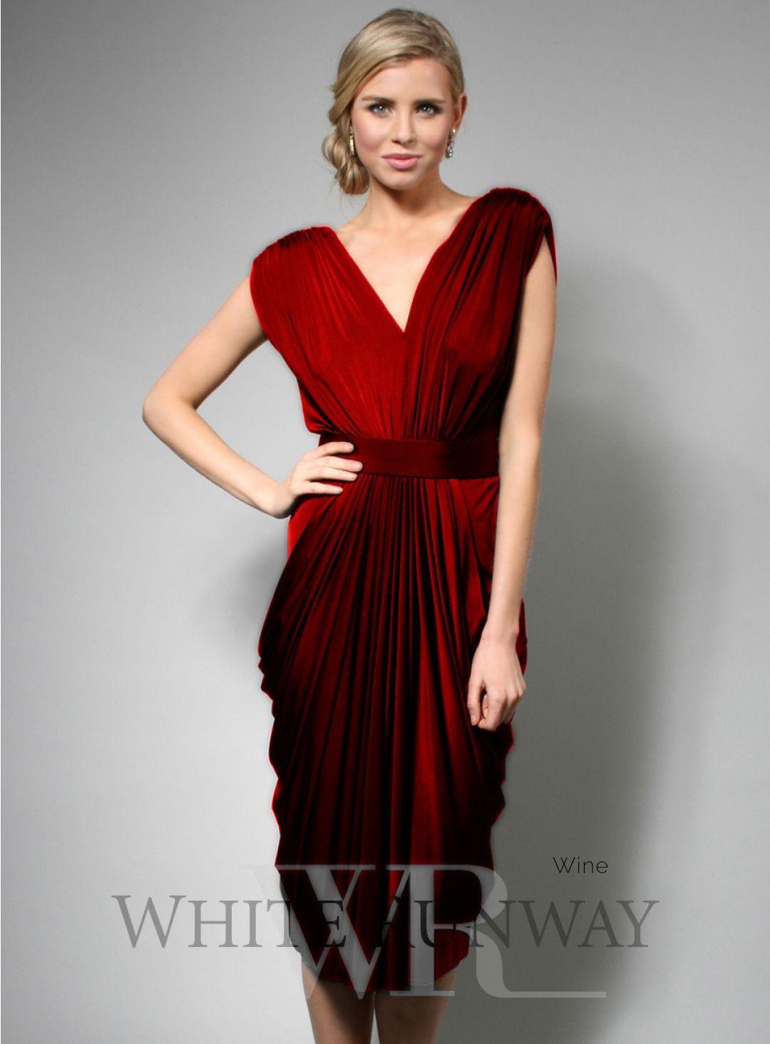 Allana Dress. A cocktail length dress by designer Pia Gladys Perey ...