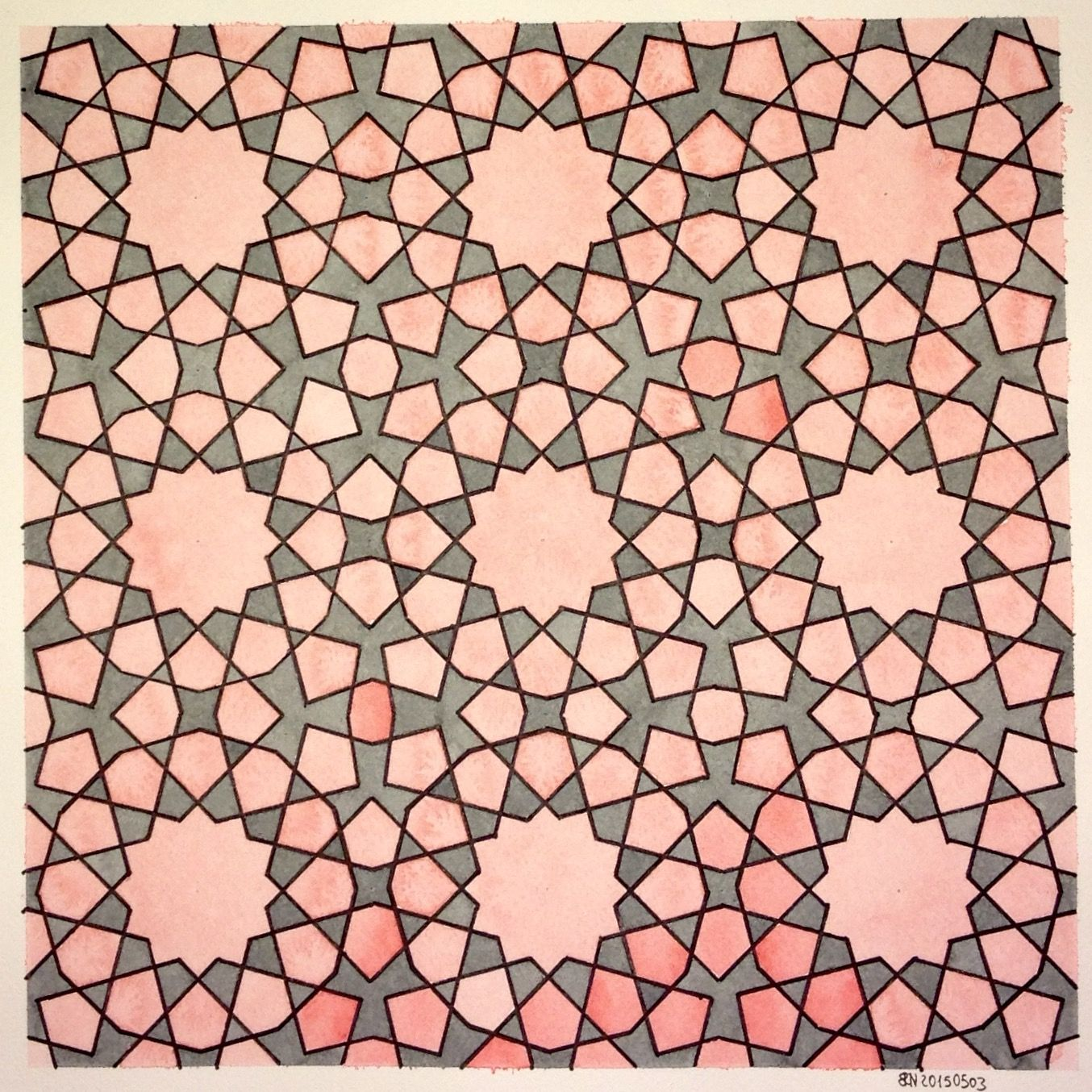Geometry Symmetry Islamic Pattern Wallpaper Math