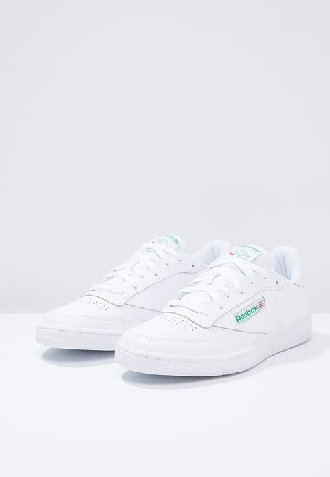 CLUB C 85 - Sneakers laag - white/green @ Zalando.nl  <div class=