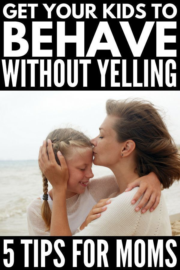 Learn how to get your kids to listen without yelling with these 5 simple tips that work! Parenting is not for the faint of heart & figuring out how to get your kids to behave without yelling at them can sometimes feel impossible. But it's not! Whether you're a mom of toddlers (temper tantrum, anyone?!) or have older kids who are acting out at school, these simple yet practical parenting tips will teach you how to get your kids to listen...the first time! #parenting #parentingtips #parenting1