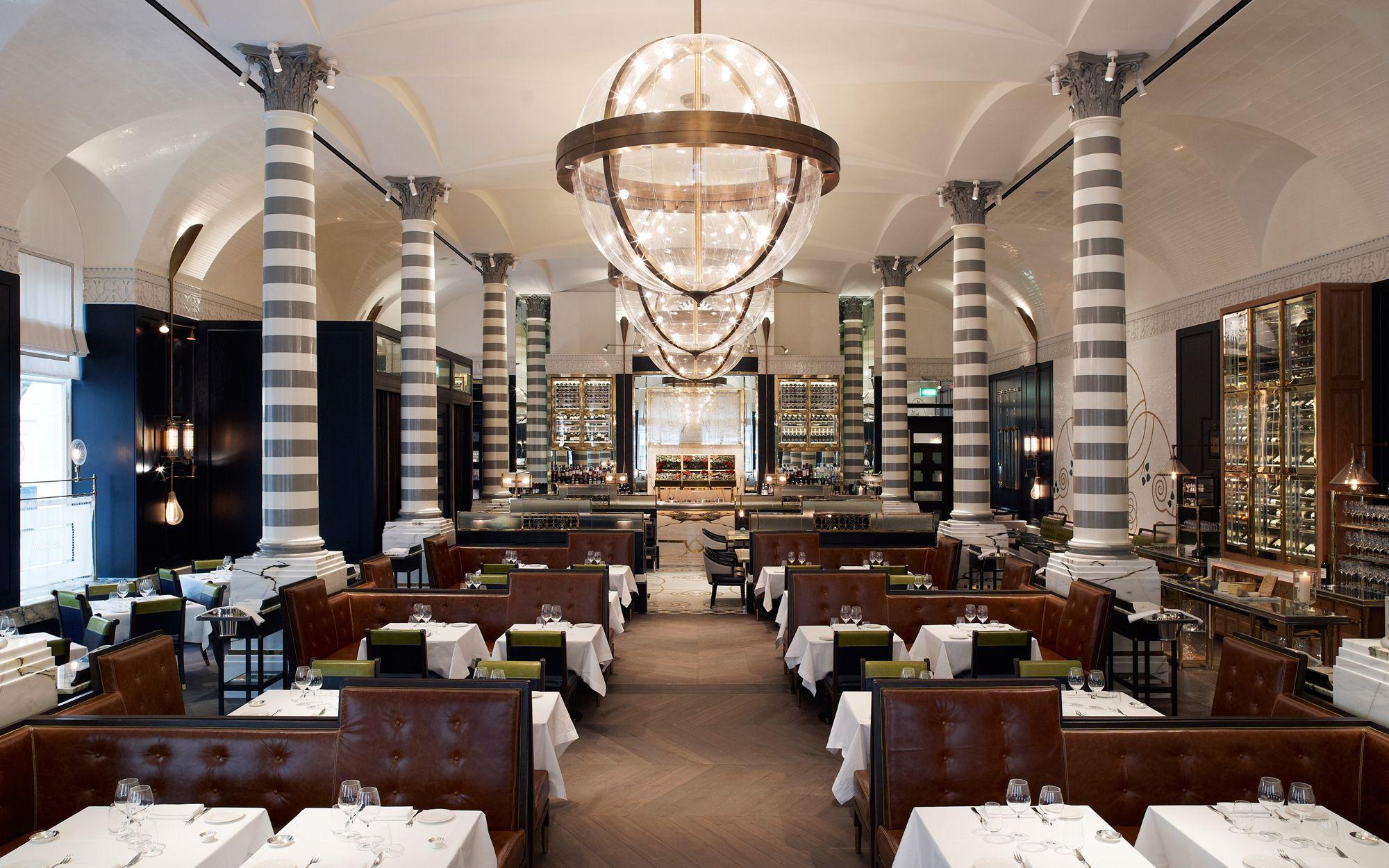 Massimo Corinthia Hotel In London  Restaurant Interior Design Fascinating Restaurant Dining Room Chairs Decorating Design