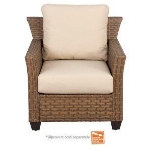 Hampton Bay Tobago Patio Lounge Chair With Cushion Insert