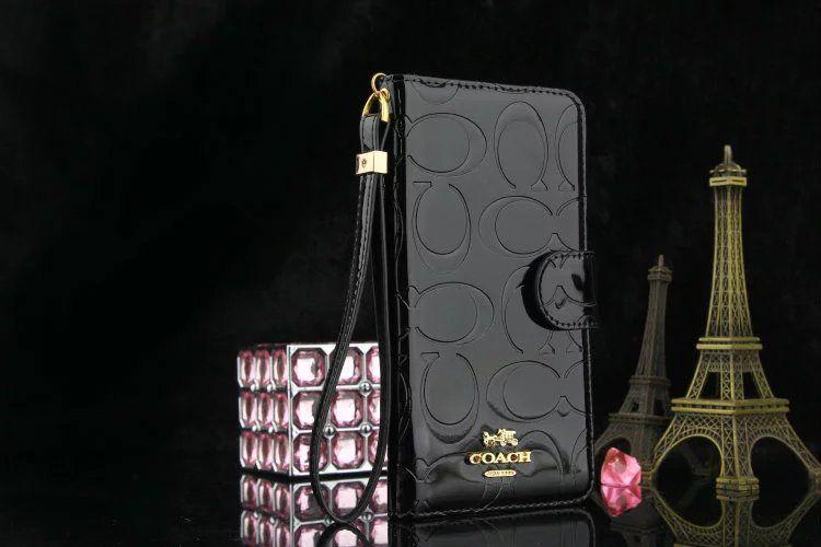 on sale da6c5 6e27b coach iphone 7 plus wallet case iphone 8 phone wristlet black ...