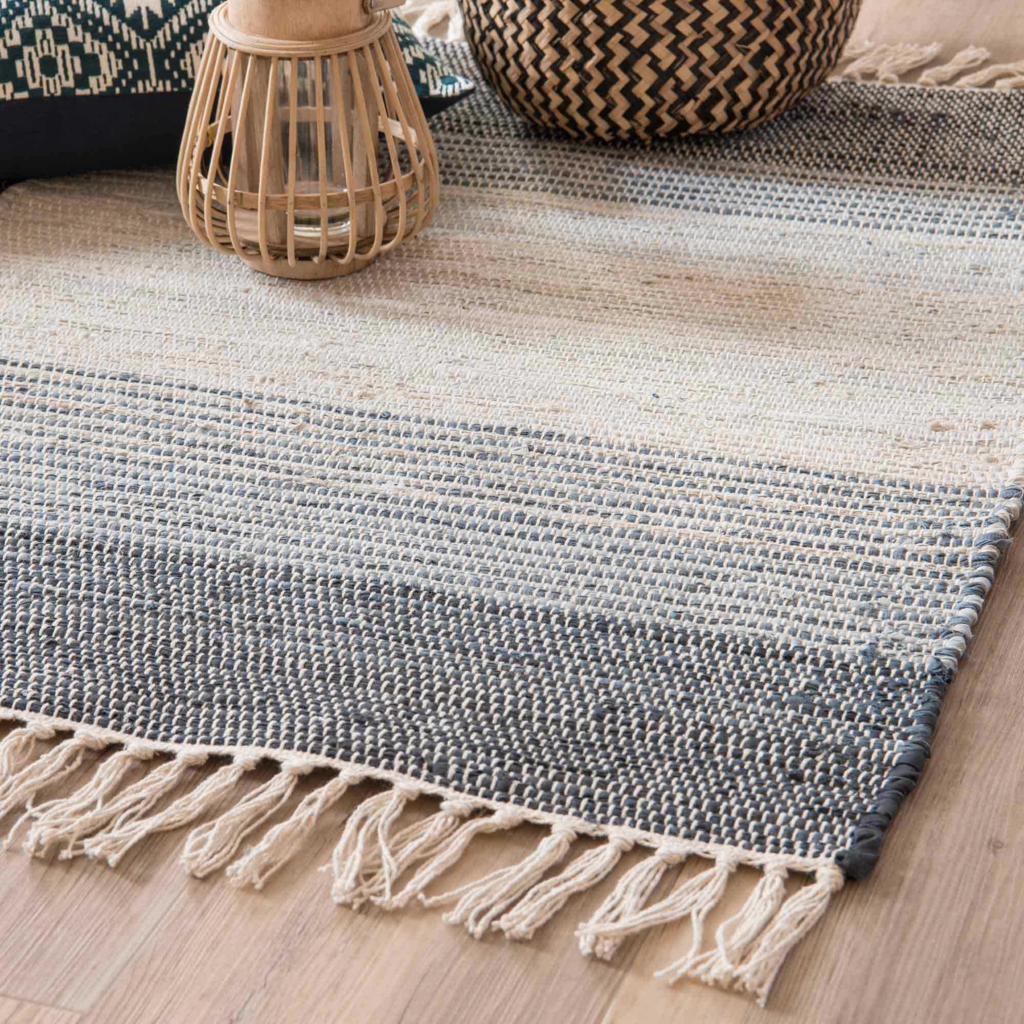 Textile En 2019 Deco Tappeto Intrecciato Tappeti Et Arredamento