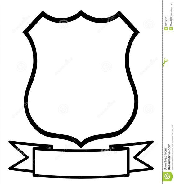 Illustration About Empty Blank Emblem Badge Shield Logo Insignia Coat Of Arms