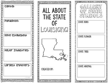 state brochure project template