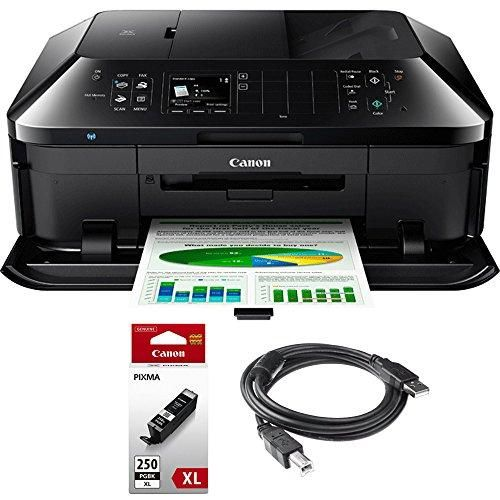 Canon PIXMA MX922 Wireless Inkjet Office All In One Printer + Genuine Canon  Ink
