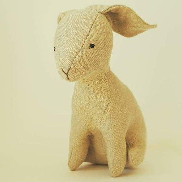 White rabbit for luck ////// and the only guy left in my Etsy shop
