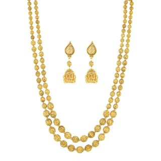 6a08c2b2437e5 Stunning Gold Plated Necklace Set2418 in 2019 | Products | Gold ...