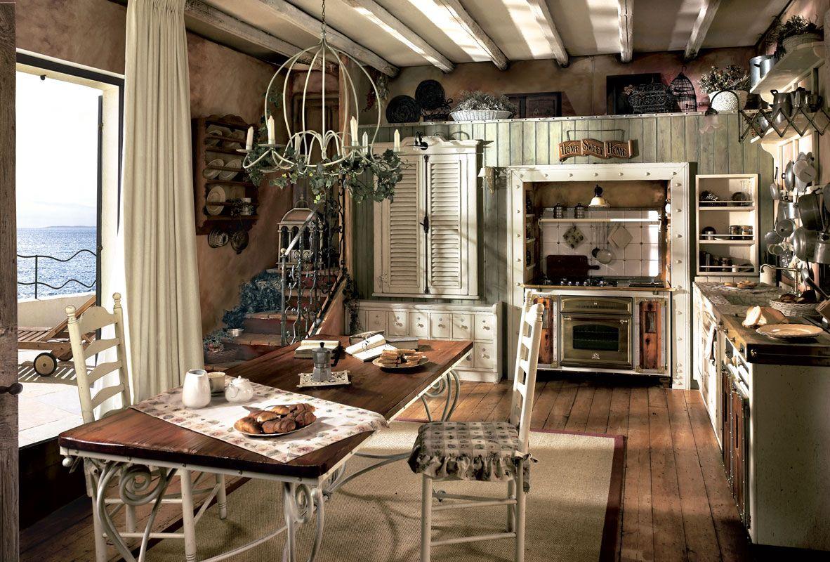 Marchi Group – Incontrada Cucina rustica in legno massello | Country ...